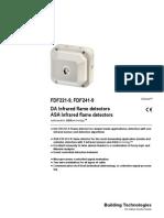 Flame Detectors FDF221 9,FDF241 9