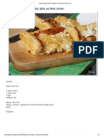 Grčka horiatiki (sa sela) pita sa feta sirom