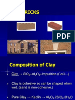 8. Clay Bricks