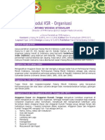 Modul KSR 2 - Organisasi