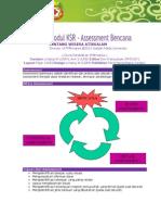 Modul KSR 8 - Assessment Bencana