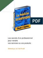 PUBLICITE SCIENTIFQIUE