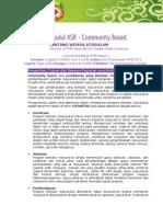 Modul KSR 14 - Community Based
