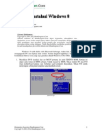 Tutorial Installasi Windows 8