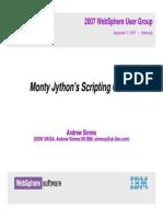 Monty Jy Thon Test
