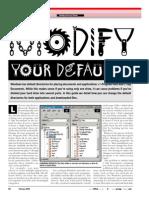 Modifying Directory Defaults
