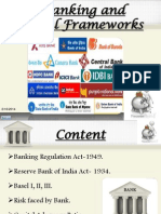 Banking and Legal Framework