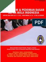 Kurikulum Sepak Bola Indonesia Part 1