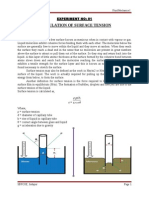 Fluid Mechanics-I Lab Manual