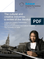 The cultural and creative industries