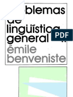 Benveniste Emile - Problemas de Ling. Gral. 2