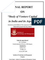 REPORT on Venture Capital