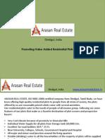 Residential Plots in Dindigul - Arasan Real Estate