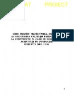 NP 013 - 1996 - Pard la constr în care se desf activ de productie