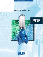 AVK Pneumatic Gate Valves Brochure