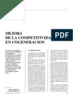 Competitividad en cogeneración