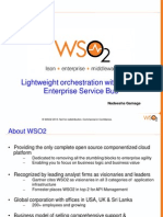 Wso2 Enterprise Service Bus