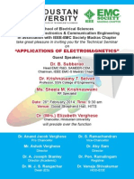 Applications of Electromagnetics