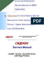 OL600e, OL610e, OL610ePS Service Manual