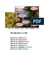Adjektive-Zusammenstellung