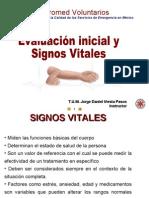 Signos vitales y evaluación inicial JDIP
