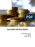 Call Money and Repo Rate