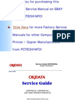 OKIPAGE 6e, 6ex Service Manual 2