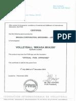 Mva300 2012 Certificate