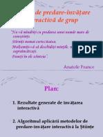 Metode de Predare Invatare in Grup