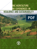 Organic Agriculture-African Expiriences in Resilience and Sustainability
