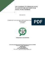 Project Proposal on Organic Farming