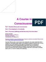 A Course in Consciousnessess