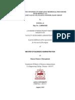 36856227 a Study on Effectiveness of Grievance Redressal Procedure