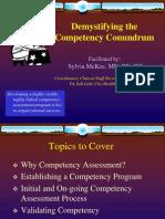 Compentency Conundrum