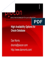 Norris Ha Options for Oracle Db v2