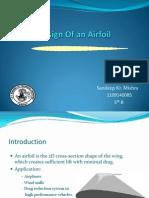 Seminar on Airofoil