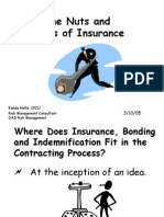The Nuts and Bolts of Insurance