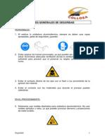 Instrucciones Seguridad Soldadura Aluminotermica