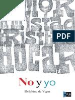 No y Yo - Delphine de Vigan (511)