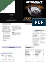 V 965 Manual