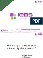 Presentación Webinar Salud 2.0
