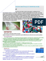 Materiale Plastice de Inalta Tehnologie