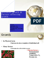 Arun- Microbial Growth & Factors Affecting Growth