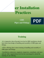 Proper Installation Practices