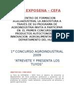 Bases Del Concurso Agroindustria Aliment Aria