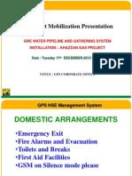 Project Mobilization Presentation
