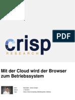 Mit der Cloud wird der Browser zum Betriebssystem
