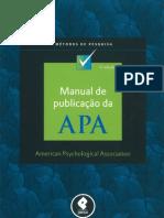 Manual de Publicacao Da APA