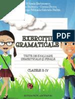 Exercitii gramaticale_ Clasele II_IV