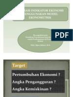 Model Ekonomometrik